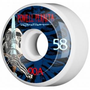 Powellperalta Rayrodskull Swordskatewheels.58mmx90a.white