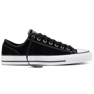 Cons CTAS Low Pro Black White Suede