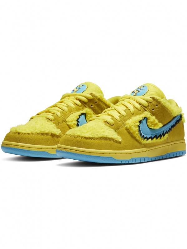 'Grateful Dead Yellow' Nike SB Dunk Low QS