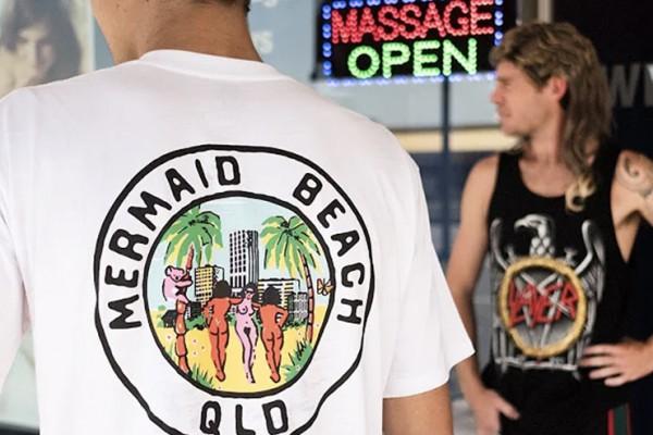 Greeting From Mermaid Beach