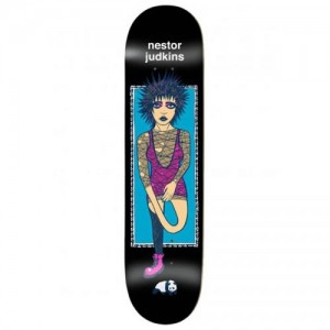 Enjoi X New Deal Whats The Deal Nestor Judkins Impact 8.375 Black 500x500