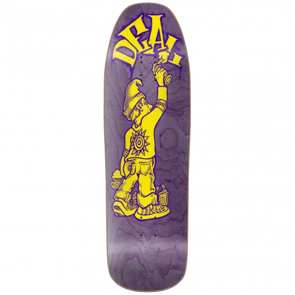 New Deal Tagger Deck Purple Stain