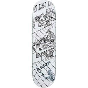 Polar Aaron Herrington Diner 8375 Skateboard Deck White B