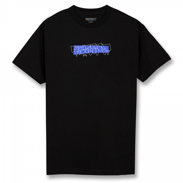 Precinct One Liner Tee Black