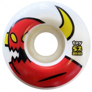 Toy Machine Monster Wheels White