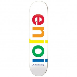 Enjoi Spectrum White