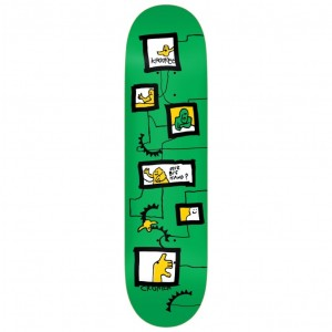 Krooked Skateboards Brad Cromer Frames Deck