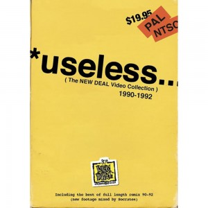 New Deal Useless The New Deal Video Collection 1990 1992 Dvd Front 1000x