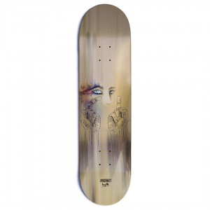 Precinct Andy Ross Finger Bang Skateboard Deck Final1