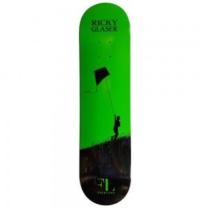 Ricky Glaser Skateboard Deck Green 1 1 1