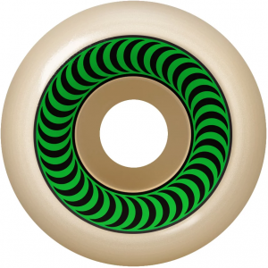 Spitfire Formula Four Og Classic Skateboard Wheels White Green 99d