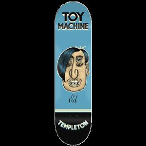 Toy Machine Pen N Ink Templeton 8 5 Skateboard Deck