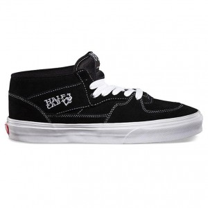 Vans Half Cab Shoes Black White
