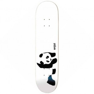 Whitey Panda Youth Logo Skateboard Deck 7 25 P48395 119927 Medium