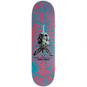 Skull & Sword Deck - Red/Blue