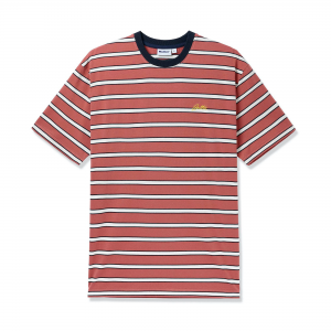 Butter Goods Beach Stripe Tee Coral 1 Copy