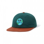 Butter Goods Sad World 6 Panel Cap Forest Rust 1