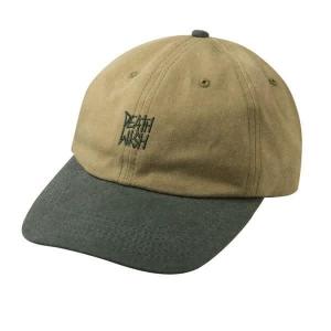 Death Stack Dad Cap - Khaki/Green