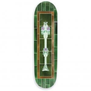 Passport Tile Life Green Skateboard Deck.1604462859
