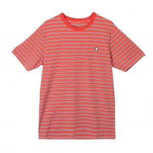 Baker Skateboards - Capital B Stripe Tee - Red