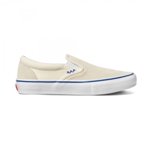 Vans Skate Classics Slip On Pro Off White
