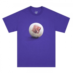 100% COTTON TWO PURPLE SHIRTS IN ONE DROP