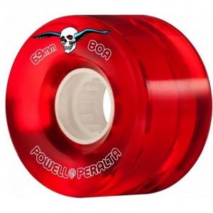 ATF Clear Cruiser Wheels - Red