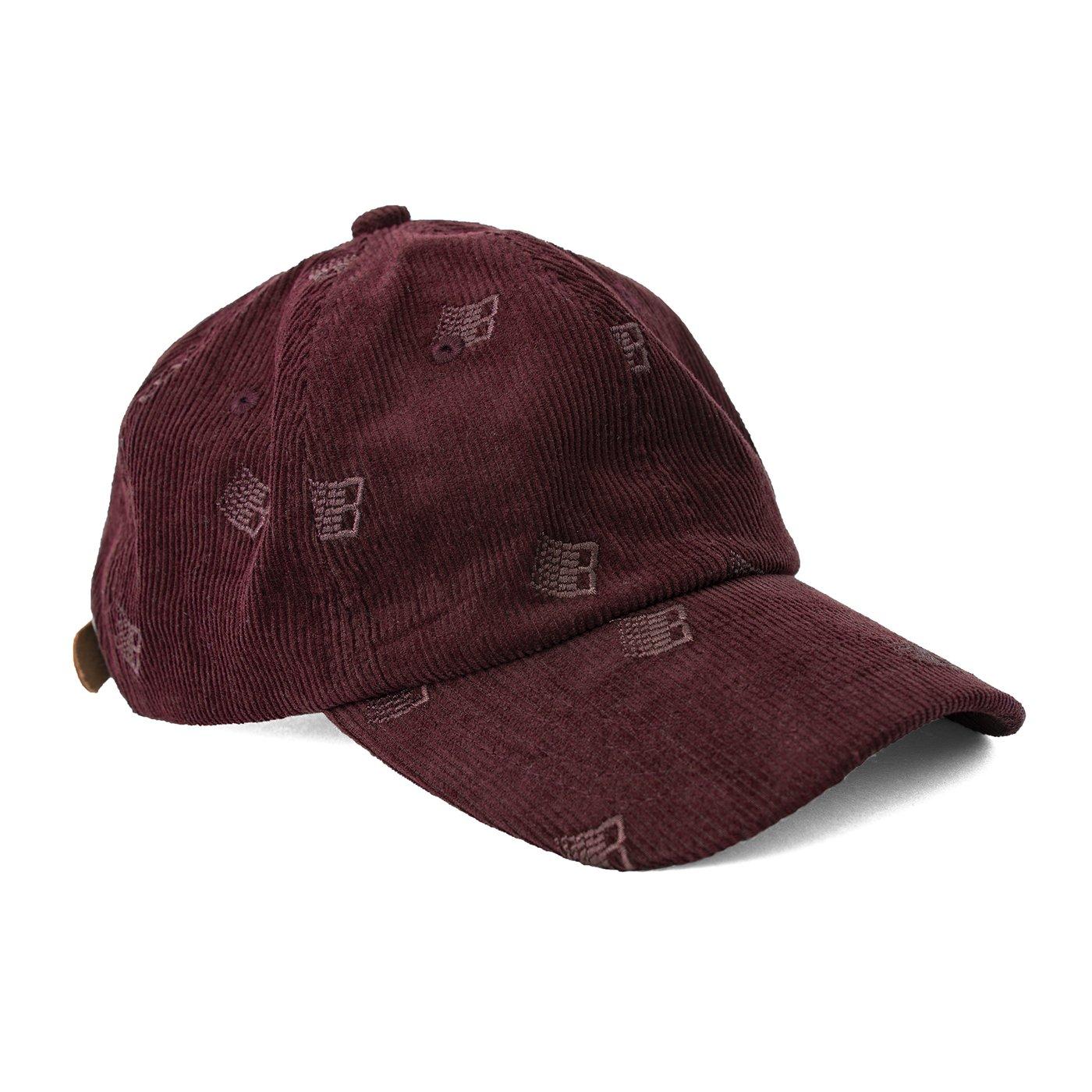Hat Corduroy Maroon 1 Low 1400x