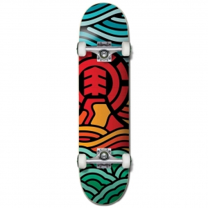 Element Volcanicwef Pre Built Complete Skateboard For Kids 6 10 Years Old