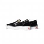 Vans Skate Slip On Black White 3 1600x