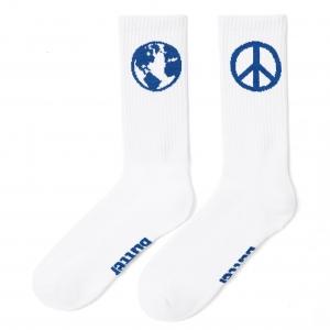 World Peace Socks - White