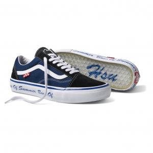 Skate Old Skool LTD Boys Of Summer Shoes - Navy/White/Black