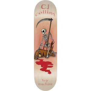 Toy Machine Cj Collins Reaper Skeleton Deck B