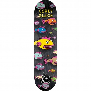 Foundation Skateboard Decks Corey Glick Fish Natural Vorderansicht