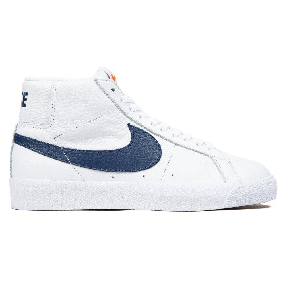 Nike Sb Zoom Blazer Mid Iso Orange Label Collection White Navy White Safety Orange Dc4472 100 Cat 1024×1024