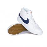 Nike Sb Zoom Blazer Mid Iso Shoe Orange Label White Navy White Safety Orange 01