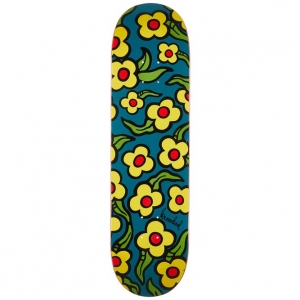 Wildstyle Flower Deck - Navy Stain