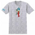 Krooked Mermaid Tee Ash Heather 1024x1024