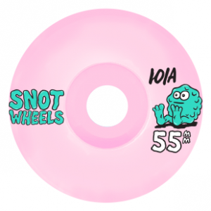 Team 55mm 101A Conical Wheels - Baby Pink
