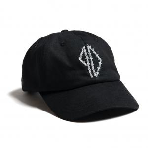 Piss Drunx - Barbed Wire Logo Dad Hat - Black