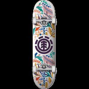 Element Floral Party 7 75 Complete Skateboard