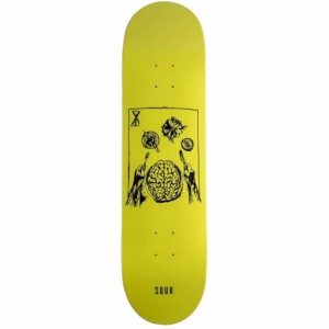 Brainfeast Deck - Fluro Yellow
