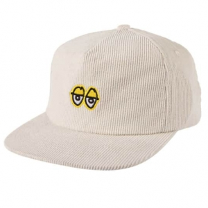 Eyes Hat - White/Yellow