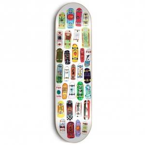 Skate Mental Koston Mini Boards Skateboard Deck 8 25 P54755 128794 Image