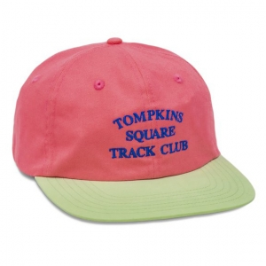 Track Club Cap - Hot Pink/Light Green
