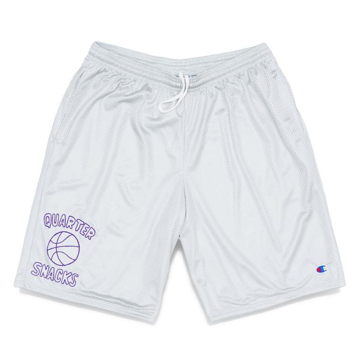 Ball Is life Mesh Shorts – Athletic Grey
