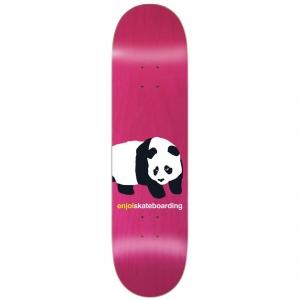 Enjoi Peekaboo Panda Pink Deck 1000x