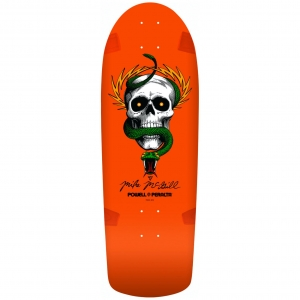 Powell Mcgill Og Skull Snake Orange Skateboard Deck 1.1615269605