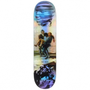 Trey Wood Blackout Holographic Deck