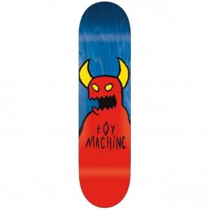 Toy Machine Skateboards Sketchy Monster Blue Stain Skateboard Deck 8 375 P44792 111258 Image